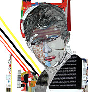 Movie Star Mixed Media - American Icon by Brian Buckley