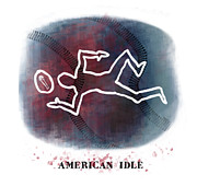 American Idle Print by Mark Armstrong