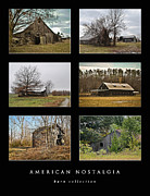 Ghost Signs Prints - American Nostalgia - barn collection Print by Greg Jackson
