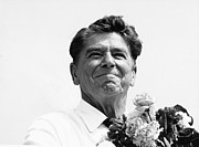 Ronald Reagan Photo Posters - American Optimism Poster by Steven Huszar