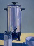 Cup Drawings - American Percolator by RX Bertoldi