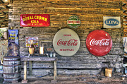 Coca-cola Signs Metal Prints - American Pickers Paradise Metal Print by Benanne Stiens