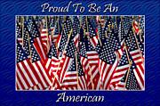 American Pride Print by Carolyn Marshall