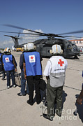 Featured Art - American Red Cross Volunteers Prepare by Stocktrek Images