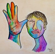 Virtual Originals - American Sign Language . . . Father by Eloise Schneider