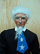 Sam Sculpture Prints - American Spirit - Uncle Sam 3 Print by David Wiles