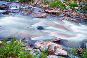 Colorado Flag Photos - American Stream Reflections by James Bo Insogna
