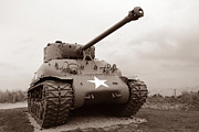 Battle Photos - American Tank by Olivier Le Queinec