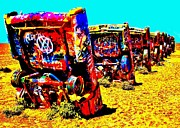 Cadillac Ranch Photos - Americana by Benjamin Yeager