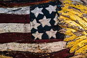 Star-spangled Banner Prints - Americana - Stars and Stripes Print by Dean Harte