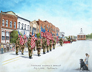 America's Brave Print by Carol Angela Brown