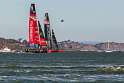 Kate Brown - Americas Cup Catamarans