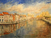 Amiens Metal Prints - Amiens France Metal Print by Juan  Bosco