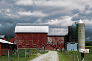 Amish Farms Photo Framed Prints - Amish Farm Framed Print by Anthony Thomas