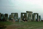 Stones Originals - Among the Stones at Stonehenge by Jan Faul