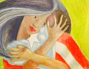 Puerto Rico Pastels Originals - Amor eterno by Mayra  Martinez