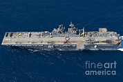 Featured Art - Amphibious Assault Ship Uss Bonhomme by Stocktrek Images