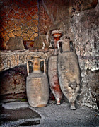 Italian Pottery Prints - Amphora Print by Heather Applegate