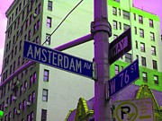 Amsterdam Digital Art - Amsterdam Avenue by Susan Carella