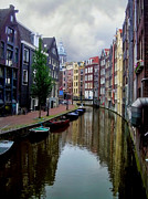 Nederland Photo Prints - Amsterdam Print by Heather Applegate