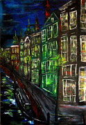 Evaldo Art - Amsterdam Night