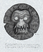 Supernatural Drawings - AMULET from DARK WATERS by Mariano Baino