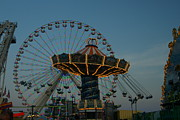 All - Amusements at Dusk by Kathy Dahmen