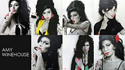 Famous People Paintings - Amy Eternal by Christian Chapman Art