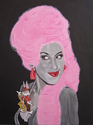 Cocaine Paintings - Amy Winehouse by Jeepee Aero