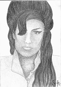 Sarah Maria Scharfe - Amy Winehouse Portrait