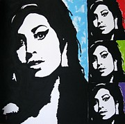 Venus Art Prints - Amy Winehouse Print by Venus