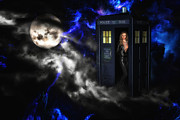 Tardis Framed Prints - Amys Choice Framed Print by Todd and candice Dailey