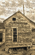 Haunted Shack Prints - An Abandoned Old Shack Print by Gregory Dyer