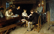 Wounded Prints - An Accident Print by Pascal Adolphe Jean Dagnan Bouveret