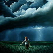 Thunder Paintings - An Act Of Love Between Heaven And Earth by Ric Nagualero