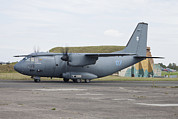 Hradec Posters - An Alenia C-27j Spartan Poster by Timm Ziegenthaler