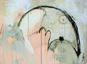 Abstract Movement Originals - An Allegory of Things Unknown 6 by Mark M  Mellon