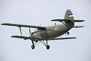 Antonov Framed Prints - An Antonov An-2 Of The Estonian Air Framed Print by Timm Ziegenthaler