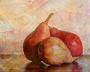 Pear Art Framed Prints - An Autumn Harvest Framed Print by Heidi Smith