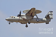 2d Prints - An E-2d Advanced Hawkeye Of The U.s Print by Timm Ziegenthaler