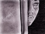 An Emotional Girl Print by Priyanka Patil