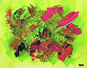An Energetic Abstraction Print by AbstractEnergy ARTist