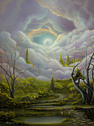 Fantasy Tree Art Art - An Epic Tale by Philippe Fernandez