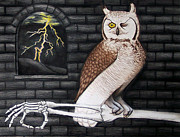 Owl Pastels - An Esoteric Evening with Swine by Donovan Hubbard