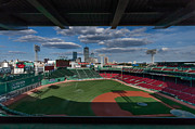 Boston Red Sox Posters - An Evening at Fenway Park Poster by Tom Gort