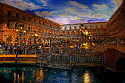 An Evening In Venice Print by David Lee Thompson