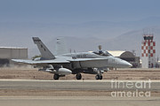 A-bomb Photos - An Fa-18a Hornet Loaded With Two Gbu-38 by Timm Ziegenthaler