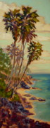 Canoe Painting Posters - An Impressionists Vision of Paradise Poster by Dan Young