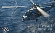 Featured Art - An Mh-6os Sea Hawk Helicopter by Stocktrek Images