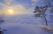 Snow Drifts Photos - An ocean of snow by Dan Jurak